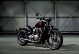 Le nouveau Triumph Bonneville Bobber 1200cc !